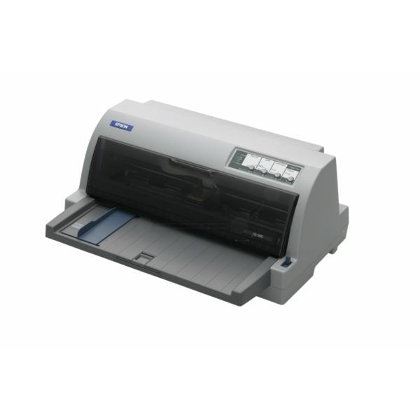 Die Abbildung zeigt einen Epson LQ 690 Drucker