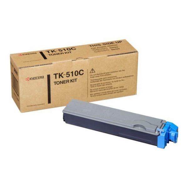 Original Kyocera FS-C 5030 N (1T02F3CEU0 / TK-510C) Toner Cyan mit Karton