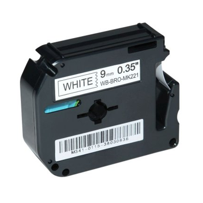 Die Abbildung zeigt eine kompatible Schriftbandkassette