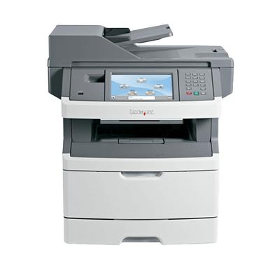 Die Abbildung zeigt einen Lexmark Laserdrucker