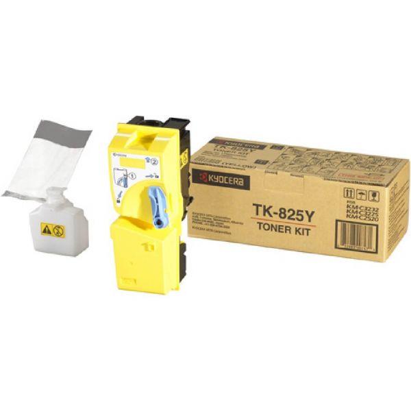 Original Kyocera TK-825Y (1T02FZAEU0) Toner Gelb mit Karton
