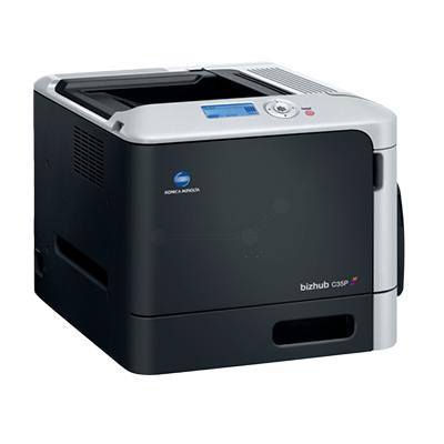 Die Abbildung zeigt einen Konica Minolta Drucker