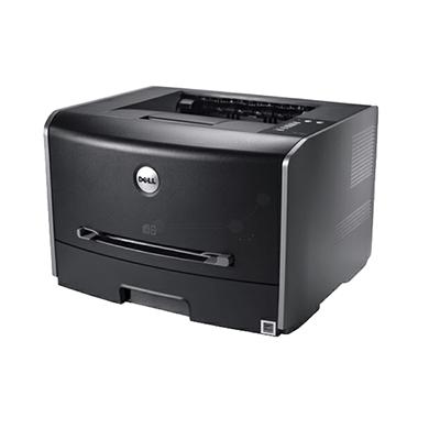 Die Abbildung zeigt einen Dell Laserdrucker