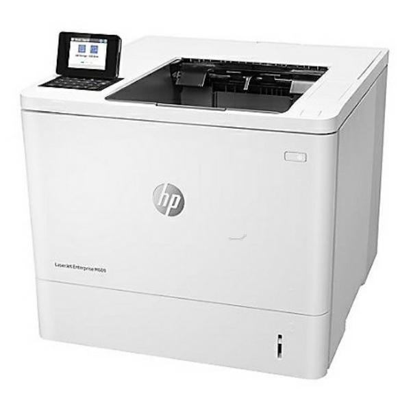 Die Abbildung zeigt einen HP LaserJet Enterprise M 609 Series Drucker