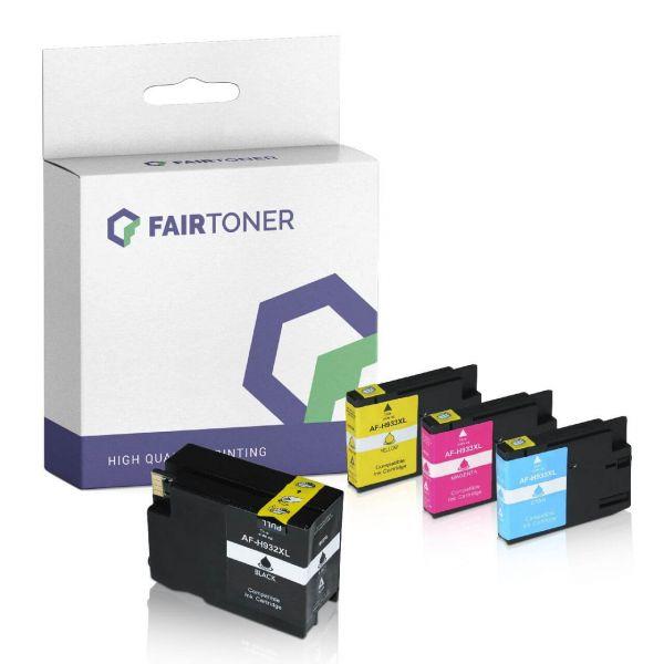 4er Multipack Set kompatibel zu HP 932XL 933XL Druckerpatronen mit Karton