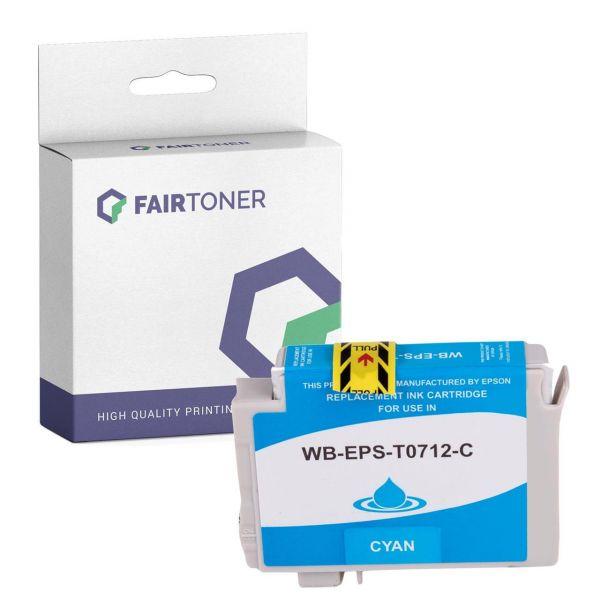 Kompatibel für Epson C13T07144011 / T0714 Druckerpatrone Gelb mit Karton