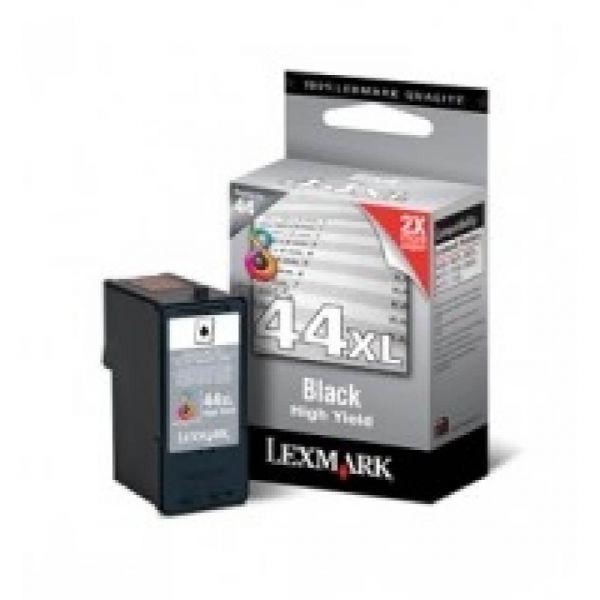Original Lexmark X 9575 (18Y0144E / 44XL) Druckerpatrone Schwarz mit Karton
